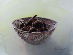 Figs in Stone Bowl