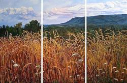 Harvest at Dusk - <b>sold</b>